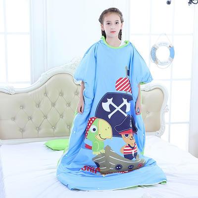 2019新款睡袋 海盗船长(98cm*150cm睡袋套)