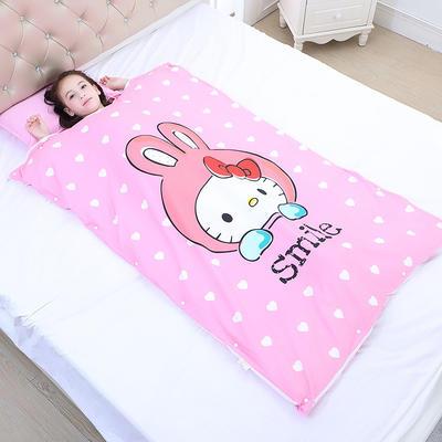 2019新款睡袋 萌兔(98*150cm棉花被芯两片)