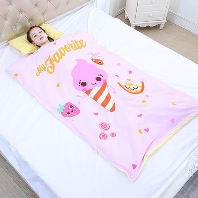 2019新款睡袋 水果精灵(98*150cm棉花被芯两片)