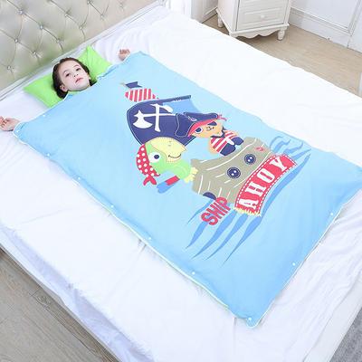 2019新款睡袋 海盜船長(88*120cm棉花被芯兩片)