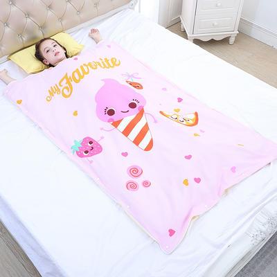 2019新款睡袋 水果精靈(88*120cm棉花被芯兩片)