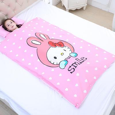 2019新款睡袋 萌兔(98*150cm寶寶絨布兩片)
