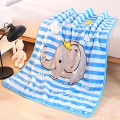 2018年11月新品儿童云毯双层加厚婴儿毛毯10花色100*130cm