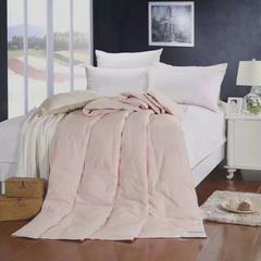 水洗棉鸭绒夏被 150x200cm 粉色