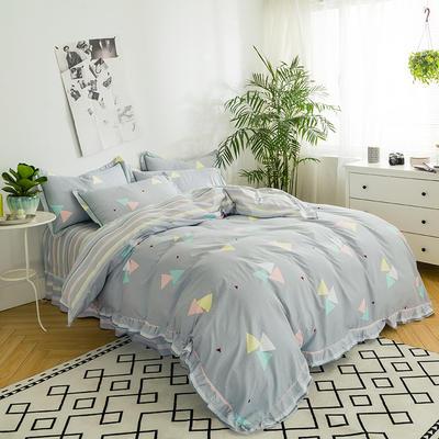 澳玛尼家纺    韩版工艺四件套 标准1.5-1.8m床 逆流时光