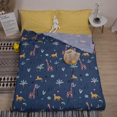 2019新款-全棉旅游隔脏睡袋 欢乐想象200x230cm