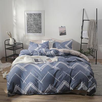 2019新款-ins风全棉学生三件套 床单款三件套0.9m床-1.2m床 柏拉图之梦