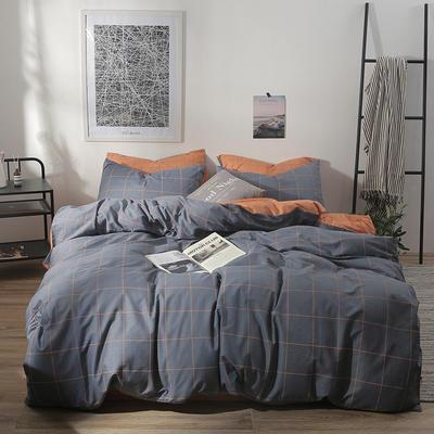2019新款-ins风全棉学生三件套 床单款三件套0.9m床-1.2m床 雅致格调