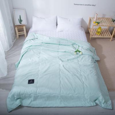 2020新款-水洗棉夏被 单夏被200X230cm 薄荷绿