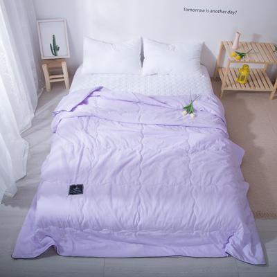 2020新款-水洗棉夏被 单夏被200X230cm 藤紫