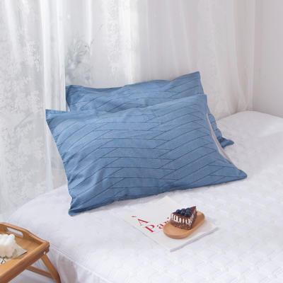 2020新款-ins全棉枕套 48x74cm/一对 卡洛