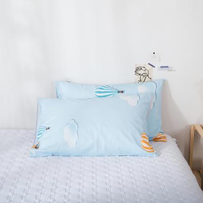 2020新款-ins全棉枕套 48x74cm/一对 热气球