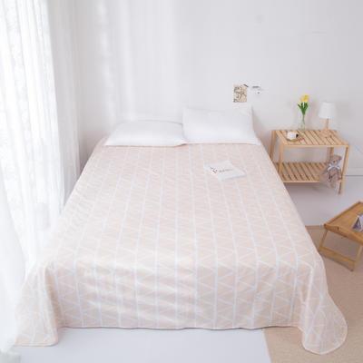 2020新款-ins网红风全棉床单 230x250cm 暖风