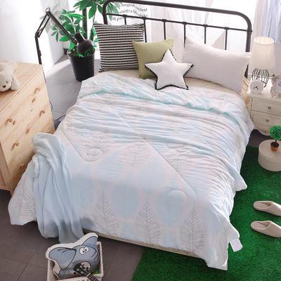 清仓-水洗棉夏被空调夏凉被 150x200cm 时光漫步
