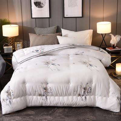 2019新款五星级宾馆立体暖绒恒温冬被   送精美包装 200X230cm(7斤) 清香