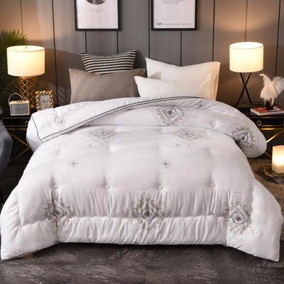 2019新款五星级宾馆立体暖绒恒温冬被   送精美包装 200X230cm(7斤) 印象主义