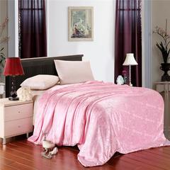 萝蔓朵家纺   V 真丝提花蚕丝被夏被凉 150*210cm 粉色