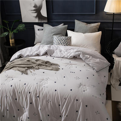 新疆棉花被被芯被子冬被冬季纯棉被棉絮 150*200cm4斤 威尼斯之夜