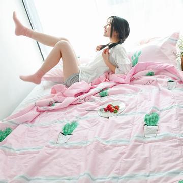 全棉健康夏凉被夏被空调被薄被子春秋被