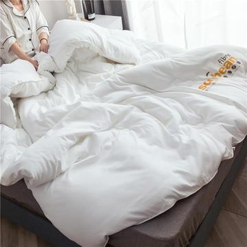 大豆纖維被芯雙人夏被床上用品加厚純棉被子冬被