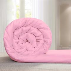 蚕丝被桑蚕丝空调冬被子母被手工被芯包质检 110*150cm/2斤 粉色