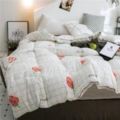 时尚冬被被子冬被加厚保暖8斤冬季棉被被芯 110*150cm/2斤 草莓诱惑