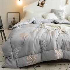 全棉棉花被春秋被学生被芯被子单人双人保暖加厚冬被 150x200cm/4斤 后时代