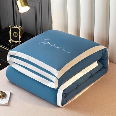 2020新款轻奢绣花冬被 被子被芯 150*200cm 5斤 宾利蓝