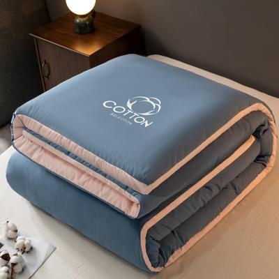 2020新款新概念棉花被被子被芯 150*200cm  8斤 宾利兰+浅豆沙
