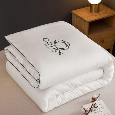2020新款新概念棉花被被子被芯 150*200cm  4斤 白色