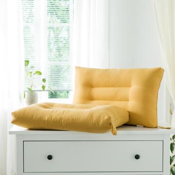 2021新款雅柔纯色单边枕头枕芯48*74cm/只