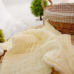 其他-Tbs313纱布口水巾(30cmX30cm) 黄色