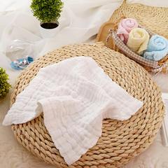 其他-Tbs313纱布口水巾(30cmX30cm) 白色