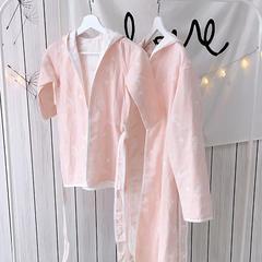 其他-浴袍 M 拐杖粉色