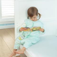 婴童睡袋-巴布豆系列睡袋-草珊瑚分腿式睡袋 绿色L单层(适合身高80-85)