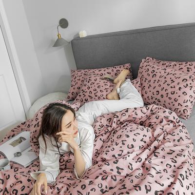 2019新款-小清新四件套 三件套1.2m(4英尺)床 魅惑