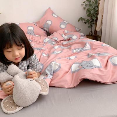 2019新款-嵌繩工藝款四件套(拍攝風格1) 床單款三件套1.2m(4英尺)床 網紅象