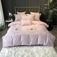 2018新款60s埃及长绒棉轻奢磨毛四件套-克里娜 小抱枕(含芯)/只 克里娜粉