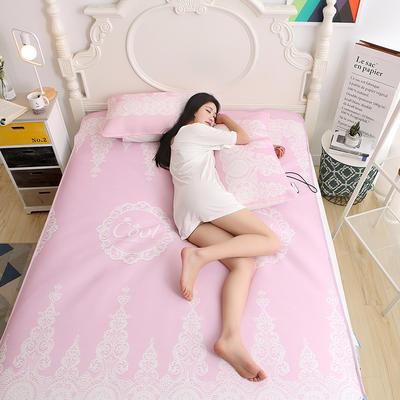 冰柔丝空调凉席 1.5m(5英尺)床 冰柔丝空调软席—粉