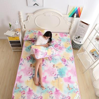 天丝空调软席 1.5m(5英尺)床 盎然春色