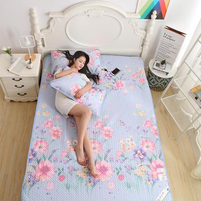 天丝空调软席 1.5m(5英尺)床 盛世牡丹