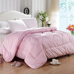 羊毛被(贵族羊毛被白,粉) 150x200cm4斤 粉红