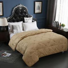 全棉珍品驼毛被 150x200cm/4斤 全棉珍品驼毛被
