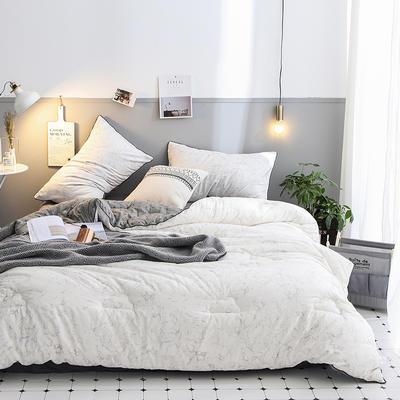 2018新款全棉棉花被 被子被芯 200cmx230cm   7斤 斑斓