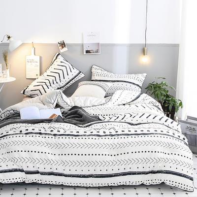 2018新款全棉棉花被 被子被芯 200cmx230cm   7斤 图灵