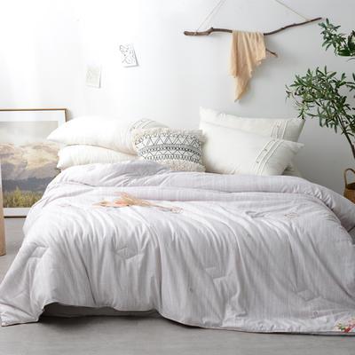 欧式风情精品棉花被 150x200cm【5斤】 欧式风情
