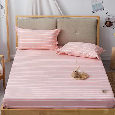 2019无印良品单床笠床罩-玉条纹 150cmx200cm 玉条纹