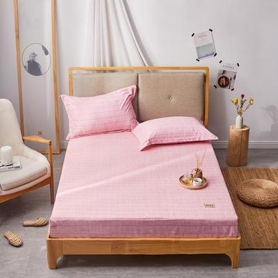 2019无印良品单床笠床罩-粉色格调 150cmx200cm 粉色格调