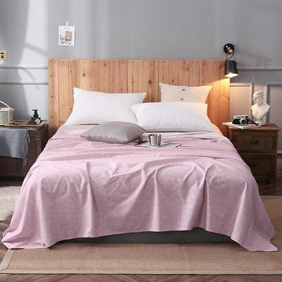 2018新款全棉床单 160*245cm 含蓄
