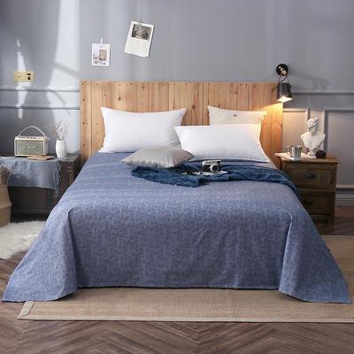 2018新款全棉床单 160*245cm 寒松